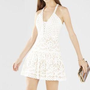 NWT BCBG White Lace Dress